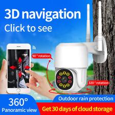 1080P WIFI IP Camera Wireless Outdoor CCTV HD PTZ Home Smart Security IR Cam