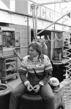 Derek Bell SIGNED, Rothmans-Porsche Portrait , Silverstone 1000 kms 1983