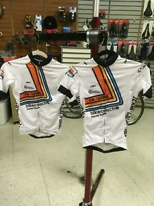 Team California Cycling Jersey- WHITE Bike Jersey, Race Fit