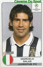 151 MARCELO SALAS CHILE JUVENTUS STICKER PANINI CHAMPIONS LEAGUE 2001-2002