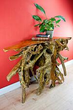 Teak Root Wood Sideboard 120 x 80 cm Console Teakwood Furniture Solid New