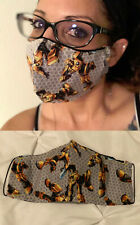 Transformers Bumblebee Washable Adult Or Kids Handmade Face Mask W Filter Pocket
