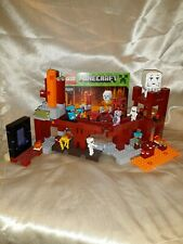 New ListingGenuine Lego Minecraft Set The Nether Fortress with Minifigures *Retired* 21122
