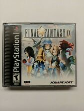 Final Fantasy IX 9 Sony Playstation PS1 Complete Perfect Condition Black Label