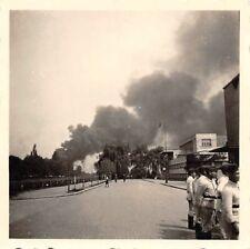 Feuer in einer Teerfabrik Belgien