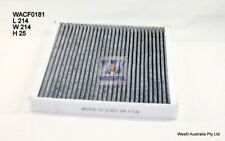 WESFIL CABIN FILTER FOR Smart ForTwo 1.0L 2008 02/08-on WACF0181