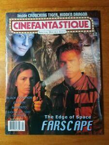 Cinefantastique Vol 33 No 1 Vol 33 No 2 Farscape Double Issue NEW