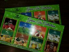 Green Tea Collection 80 Tea Bag TEA LAND, 8 Flavor Green, Chai, Ginger, Mint etc