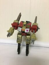 Transformers Armada Demolisher Cybertron Robot Disguise Tank With Darts Complete