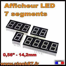 "AFLED# afficheur 7 segments LED rouge 0.56"" -14,2mm Cathode commune 1 à 4 digits"