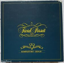 Trivial Pursuit Komplettset Genus 2te Edition 1989 - Parker
