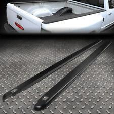 FOR 02-09 DODGE RAM 6.5FT FLEETSIDE PAIR TRUCK BED SIDE RAIL MOLDING CAP W/HOLES