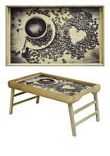 Handmade/Breakfast in Bed wood Lap Tray/Laptop Desk /Kids Floor Table Reading