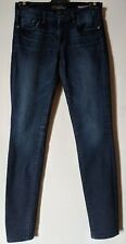 "WOMEN'S JEANS GUESS CURVY SOPHIA SKINNY STRETCH SIZE 9 LEG 31"" FREE POSTAGE"