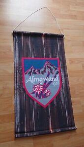 Almgwand Banner Rar Textilbanner Werbung Deko Promo