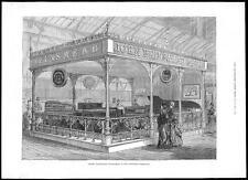 1885 John brinsmead & Sons Pianoforte piano Fabricant inventions Exhib (184)
