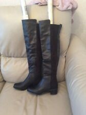 Ladies Next Black Over The Knee Boots Size 4