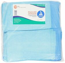 Disposable Underpad 100pcs Waterproof Urinary Incontinence Bed Pads 17x24""