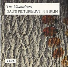 Chameleons Uk RARE Dali's Picture + Live In Berlin Double Uk Cd