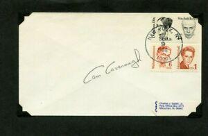 Autographié Enveloppe Chambre Cavanaugh Américain Auteur Feux & Ombres