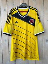 Columbia 2014 World Cup Home Football Shirt Soccer Jersey  Size XL Adidas
