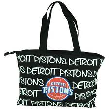 NBA Robin Ruth Detroit Pistons Medium Tote Hand Bag Glitter Women Ladies Purse