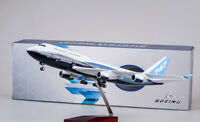 1/150 Boeing 747-400 Airplane Aircraft Model 47cm W/Light  Plane Toy