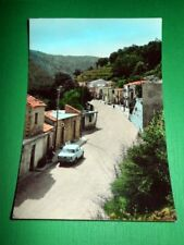 Cartolina Ghorio di Roccaforte - Via provinciale 1960 ca.