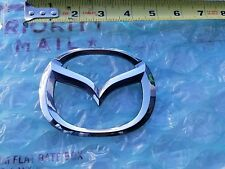 03-08 MAZDA 6 Rear Logo Badge Sign J6A-51730 OEM MAZDA6 TRUNK BACK REAR EMBLEM