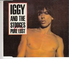 CD MAXI 4 T IGGY POP AND THE STOOGES *PURE LUST*  ( LIMITED EDITION 1000 COPIES)