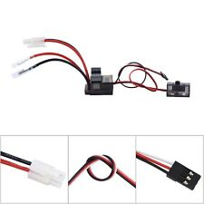 320A High Voltage Brushed ESC Speed Controller for RC 1/10 4WD On-road Car Truck