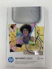 "HP Sprocket Select Portable Photo Printer | 30% Larger 2.3"" x 3.4"""