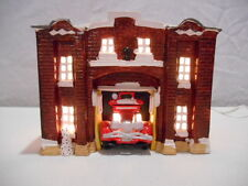 Dept 56 Snow Village Christmas ---  Fire Station 50326 --- RETIRED