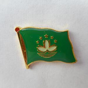 Macao Flag Pin, Flag, Pin, Badge, Flag, Sticker China