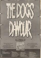 21/10/89Pgn10 Advert: 'the Dogs Damour' Errol Flynn The Album 15x11