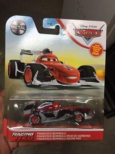 2021 DISNEY CARS RACING RED FRANCESCO BERNOULLI - BRAND NEW