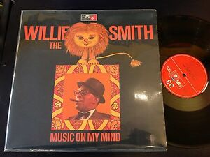 WILLIE SMITH THE LION music on my mind ORIG GEMA MPS EXC+