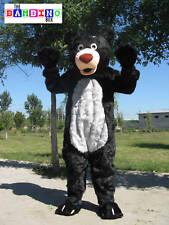 Black Bear Costume Mascot / Grizzly Fancy Dress / Kids Party UK