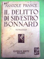 FRANCE. IL DELITTO DI SILVESTRO BONNARD. BIETTI 1936