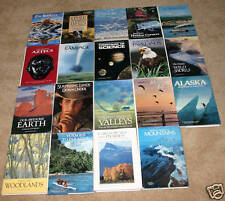 National Geographic Hardbacks - 19 titles in VG+ to EX