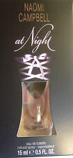 """ at Night "" de Naomi Campbell eau de toilette Sprays 15ml pour femmes +"
