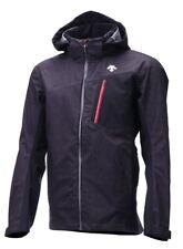 Descente Rage 3L Shell Ski Jacket - Men's - XL, Black Denim/Electric Red (96)