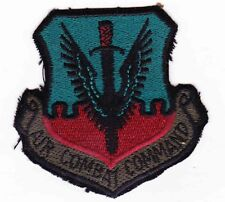 USAF Air Combat Command Patch (Sew on Type)