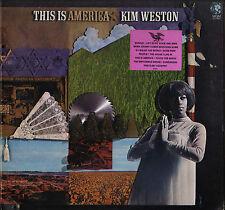 """KIM WESTON """"THIS IS AMERICA"""" POP SOUL LP 1968 MGM 4561"""