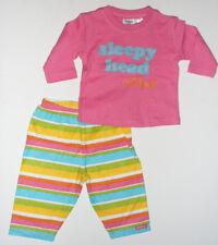 Size 0 - OshKosh Baby Girls Pink PJ's Pyjama's Sleepwear Nightwear
