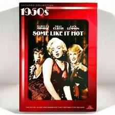 Some Like It Hot (2-Disc Dvd/ Cd, 1959) Like New w/ Slipcover ! Marilyn Monroe