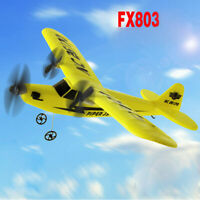Remote Control RC Helicopter Plane Glider Airplane EPP foam 2CH 2.4G Toys - UK