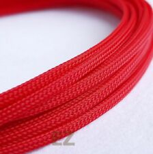 8mm x 10m RED Expandable Braided Cable Sleeving High Density PC RC WIRE Modding