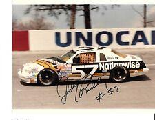 Autographed Jody Ridley NASCAR Auto Racing Photograph