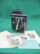 Bolex H16 reflex Camera body only Parts or Repair Spring Issue + Manual